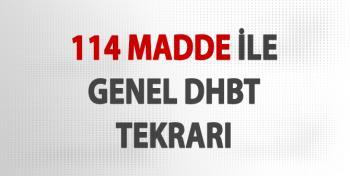 114 Madde İle DHBT Konu Özeti (Hap Bilgiler)