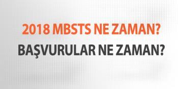 2018 MBSTS Tarihi Açıklandı! Başvurular Ne Zaman Başlıyor?