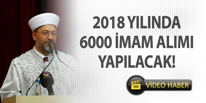 Prof. Dr. Ali ERBAŞ, 2018 Yılında 6 Bin İmam Alımı Müjdesi Verdi!