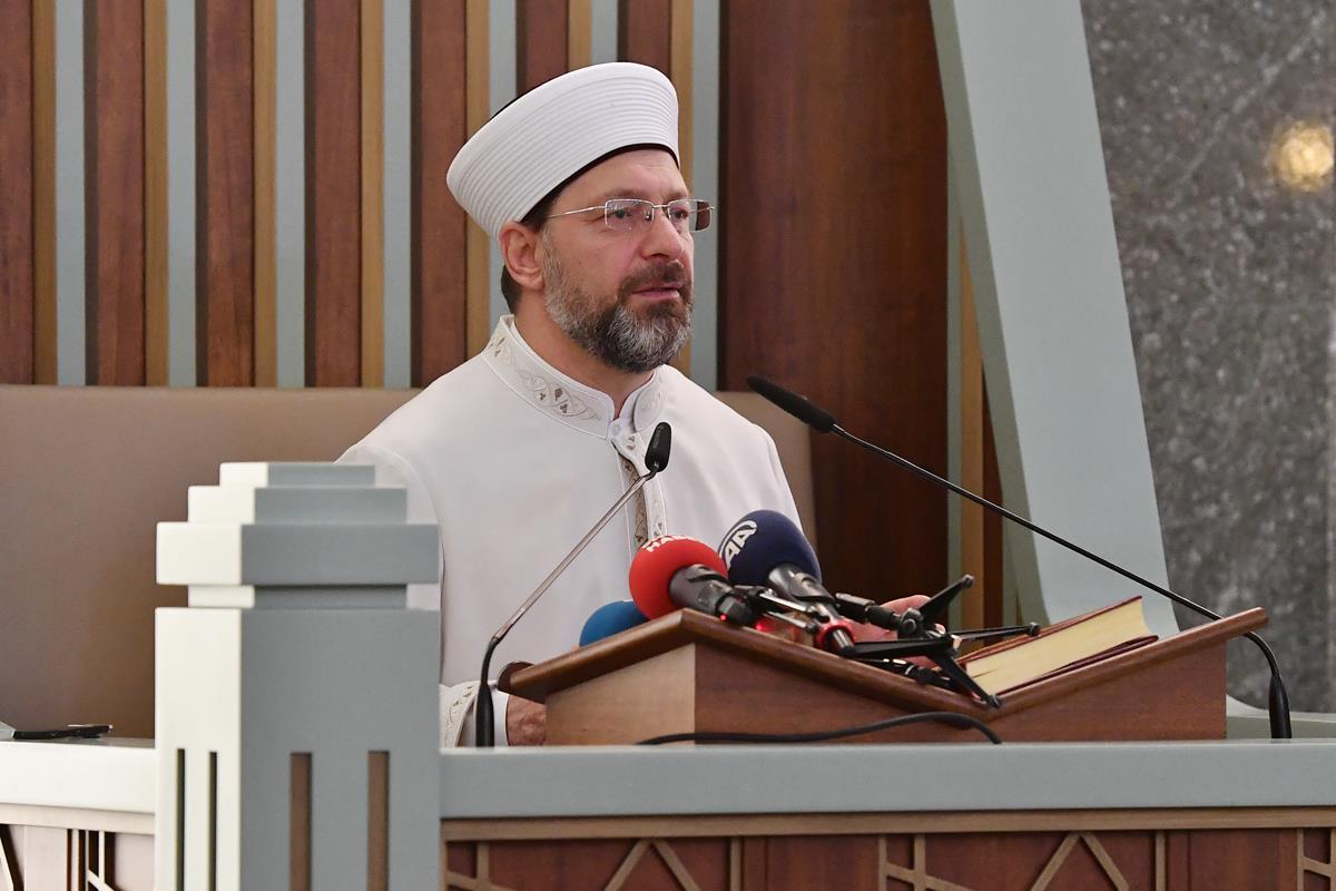 Başkan Erbaş, Millet Camii'nde Çocuklar ve Gençlerle Program Yaptı