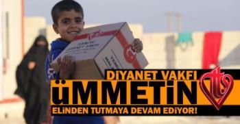 Diyanet Vakfı, Hama'dan Gelen Ailelere Yardım Eli!