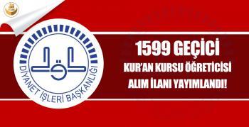 İstanbul İl Müftülüğü 2018 Kış Dönemi Geçici Kur'an Kursu Öğreticisi Alımı