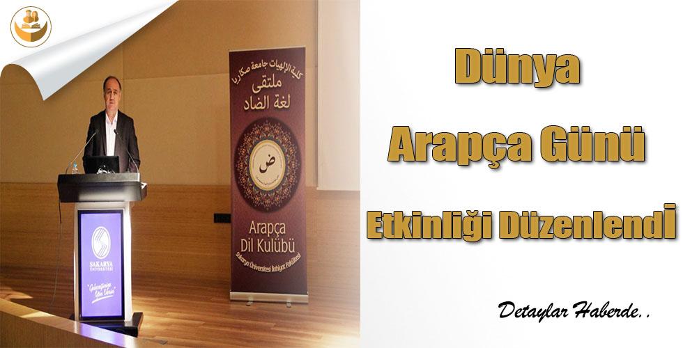 Dünya Arapça Günü Etkinliği Düzenlendi