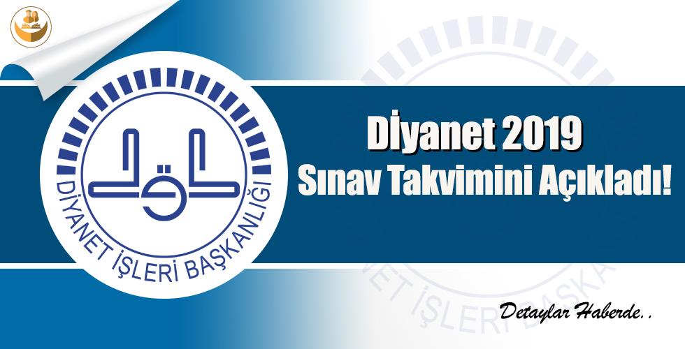 Diyanet 2019 Sınav Takvimini Açıkladı!