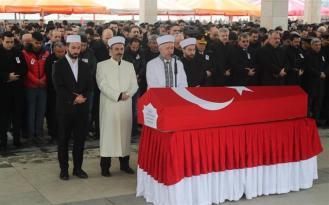 Ankara'daki Şehit Polis Memuru Çelik, Son Yolculuğuna Uğurlandı!