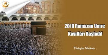 2019 Ramazan Umre Kayıtları Başladı!