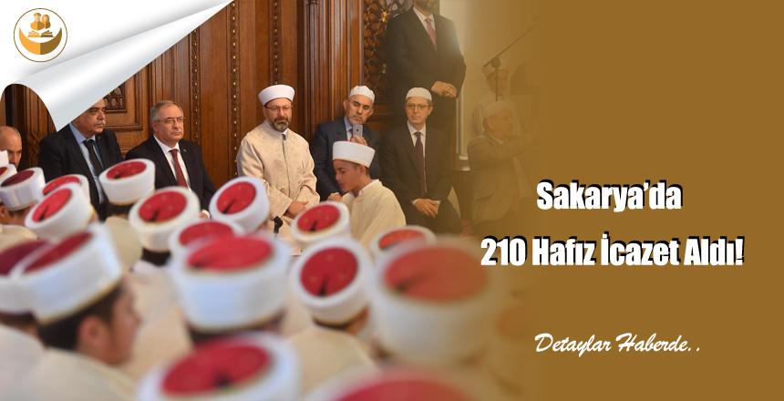 Sakarya'da 210 Hafız İcazet Aldı!
