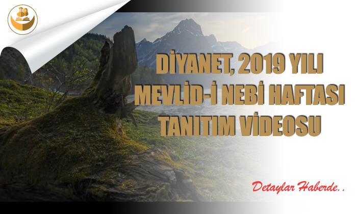 Diyanet, Mevlid-i Nebi Haftası Tanıtım Videosu