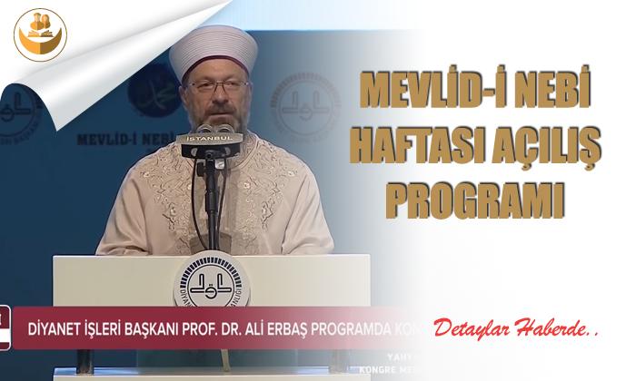 Mevlid-i Nebi Haftası Programı – Video Haber