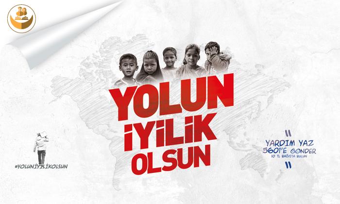 Türkiye Diyanet Vakfı (TDV), #YolunİyilikOlsun Kampanyası