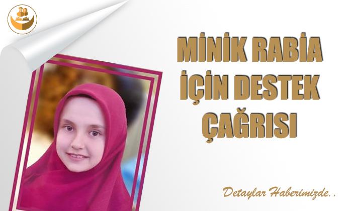 Minik Rabia İçin Destek Çağrısı