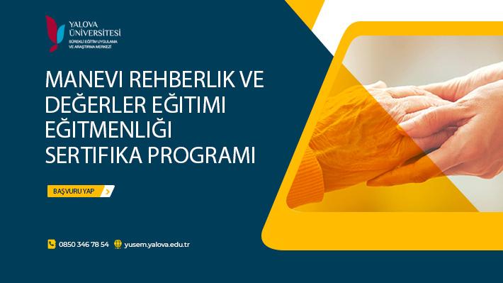 Manevi Rehberlik ve Değerler Eğitimi Eğitmenliği Sertifika Programı